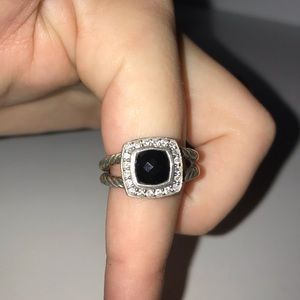 David Yurman Black Onyx Ring